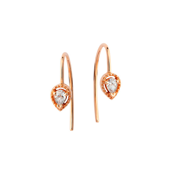 boucle_d'oreilles_diamant_or_rose_bijou_sweet_paris_E5930GPN